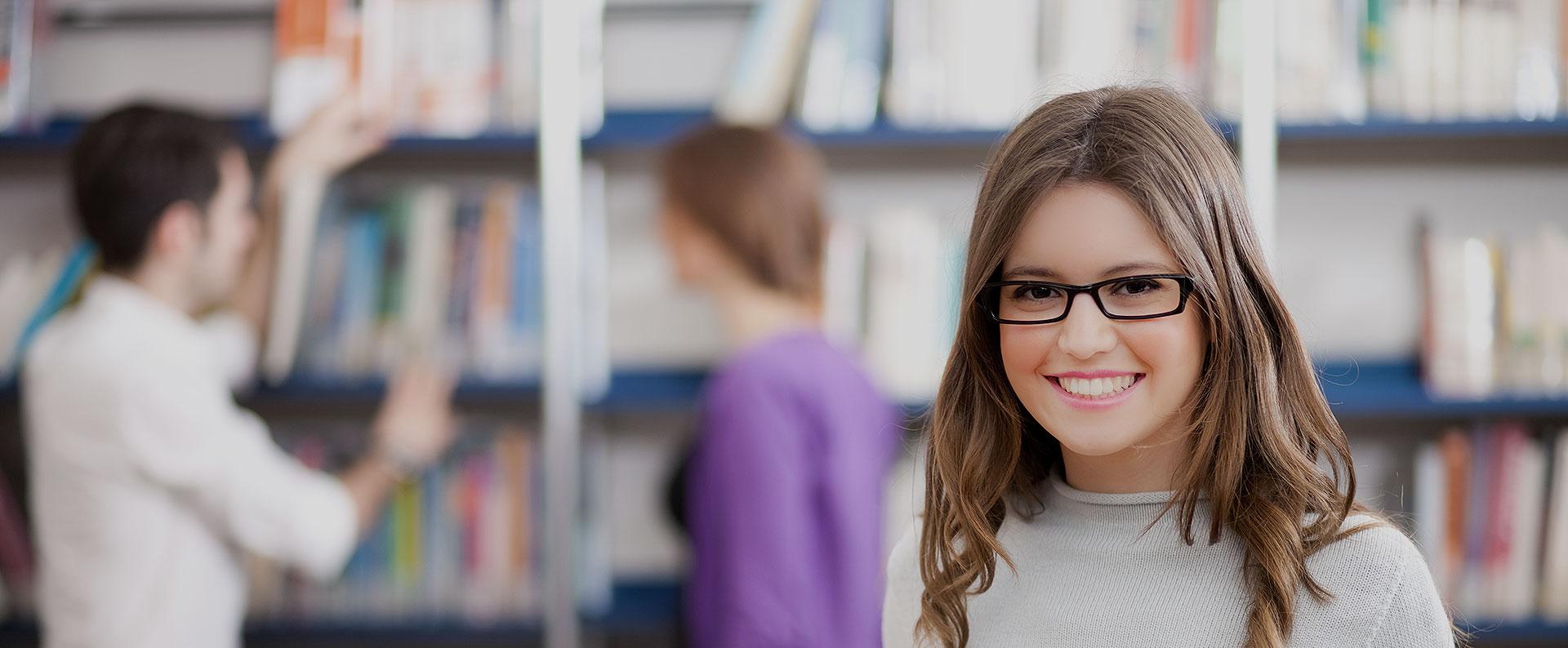 studente in libreria